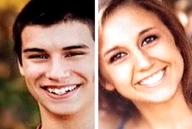 Nicholas Brady, 17, and Haile Kifer, 18 (Associated Press)