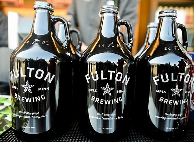 Fulton Beer will be on tap at Target Field in Minneapolis, Minn., on Thursday, March 28, 2013.(Pioneer Press: Ben Garvin)