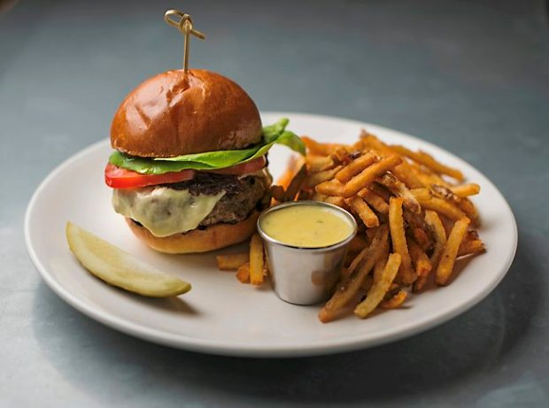 The House Hamburger at Meritage in St. Paul. (Chris Polydoroff / Pioneer Press archives)
