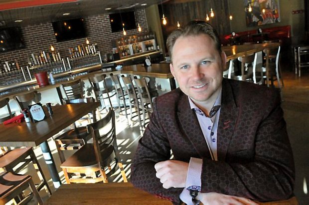 Luke Shimp owns Red Cow restaurants in Minneapolis and St. Paul. (Pioneer Press: John Doman)