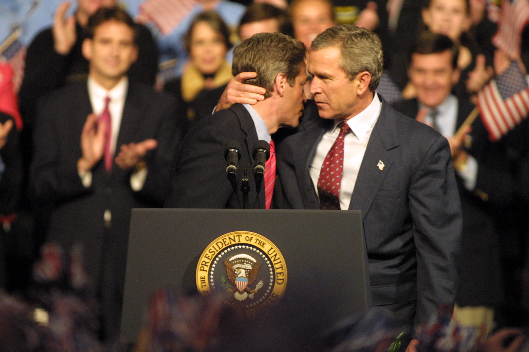 Al Gore George Bush Presidential Candidates With Biggest Twin Cities Crowds