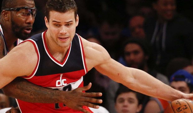 Kardashian kasualty Kris Humphries is 31. The nice guy from Minnesota and power forward for the Washington Wizards was a standout at Hopkins High and the University of Minnesota. (Getty Images: Jeff Zelevansky)