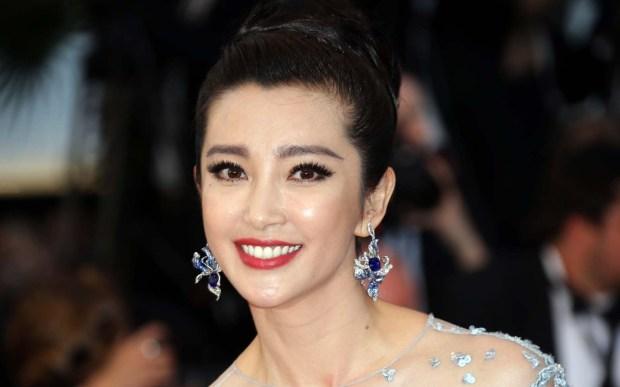 Chinese actress and singer Li Bingbing is 43. (Associated Press: Joel Ryan)