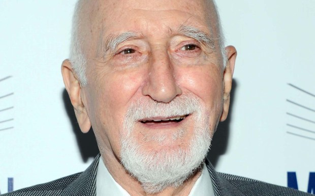 """Actor Dominic Chianese -- Uncle Junior in """"The Sopranos"""" -- is 85. (Getty Images: Ben Gabbe)"""