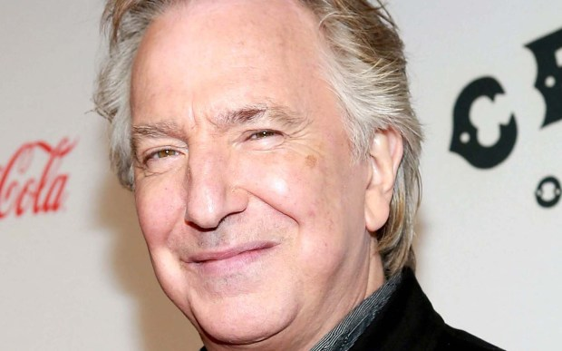 """Actor Alan Rickman -- """"Robin Hood: Prince of Thieves,"""" the """"Harry Potter"""" movies, """"Galaxy Quest"""" -- was born on this day. He died January 2016 at age 69. (Getty Images: Robin Marchant)"""