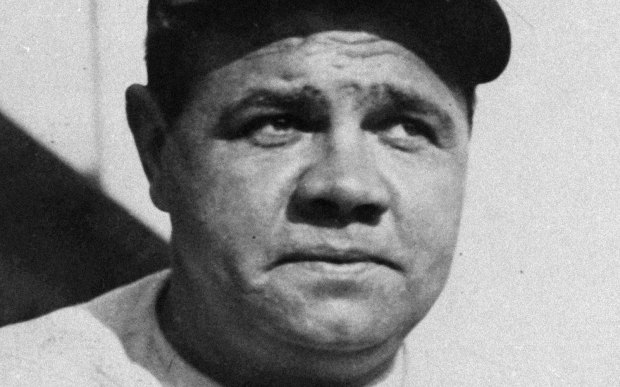 """Baseball Hall of Famer George Herman """"Babe"""" Ruth Jr. was born in Baltimore on this day in 1895. The Sultan of Swat, the Behemoth of Bust, the Great Bambino suffered from alcoholism and cancer and died in 1948. (Associated Press file photo)"""