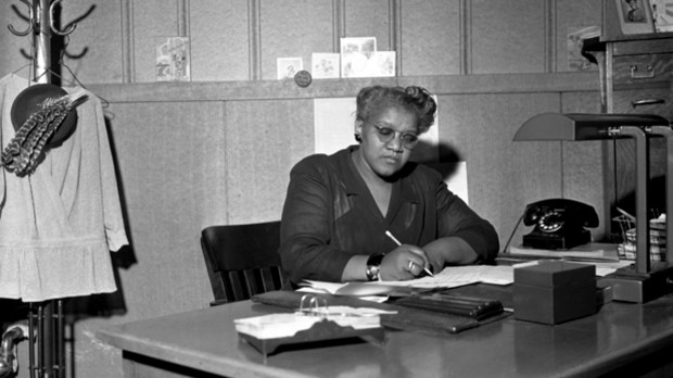 I. Myrtle Carden photographed about 1950. A social worker, Carden founded the Hallie Q. Brown Community Center in 1929. Photo courtesy of the Minnesota Historical Society.