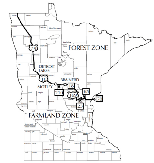 "The Minnesota Department of Natural Resources has proposed banning lead shot on state-owned wildlife management areas in the ""farmland zone"" as soon as 2018."