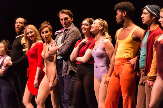 "The cast of ""A Chorus Line."" (Rich Ryan)"