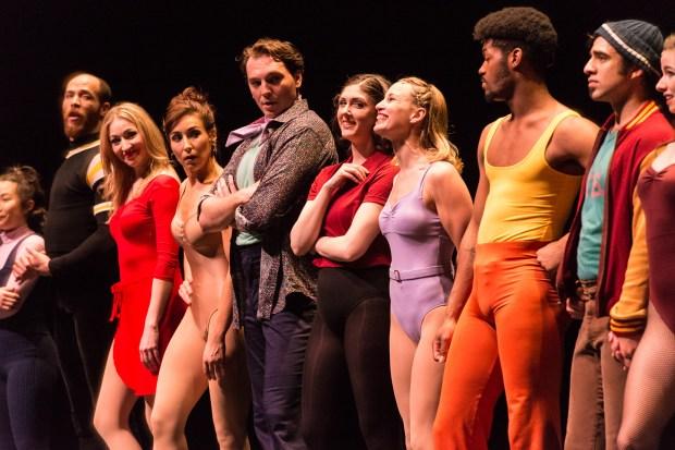 "The cast of ""A Chorus Line."" (Rich Ryan)"
