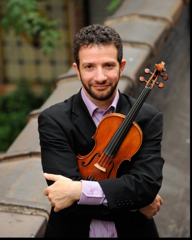 St. Paul Chamber Orchestra concertmaster violinist Steven Copes. (Courtesy photo)