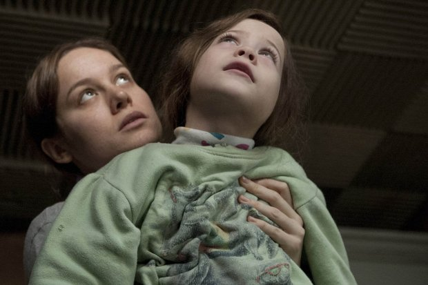 "Brie Larson and Jacob Tremblay in ""Room."""