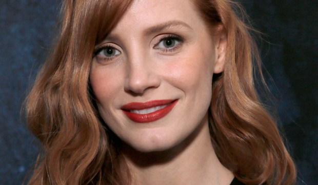 """Oscar-nominated actress Jessica Chastain of """"Zero Dark Thirty"""" and """"The Help"""" is 39. (Getty Images: Mike Windle)"""