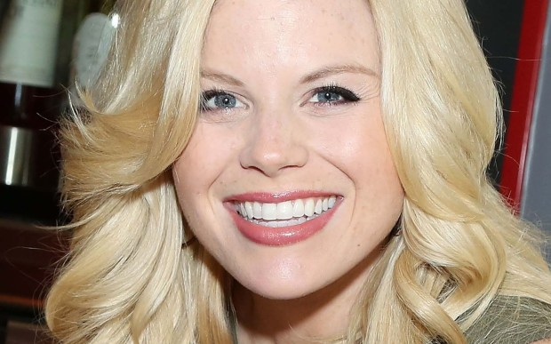 "Actress Megan Hilty of the TV musical-drama ""Smash"" is 35. (Getty Images: Monica Schipper)"