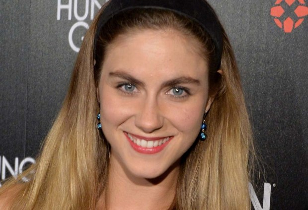 "Actress Caitlin Wachs of ""Commander in Chief"" is 27. (Getty Images: Michael Buckner)"