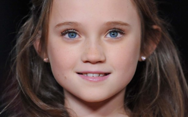 """English actress Isabelle Allen — young Cosette in the 2012 movie """"Les Miserables"""" — is 14. (Getty Images: Stuart Wilson)"""