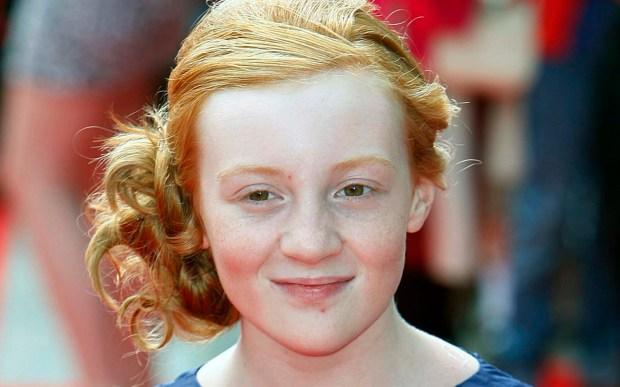 "English actress Scarlett Stitt -- Moody Margaret in 2011's ""Horrid Henry: The Movie"" -- is 17. (Associated Press: Akira Suemori)"