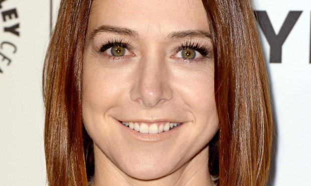 """Actress Alyson Hannigan -- """"Buffy the Vampire Slayer,"""" """"How I Met Your Mother"""" -- is 42. (Getty Images: Frazer Harrison)"""