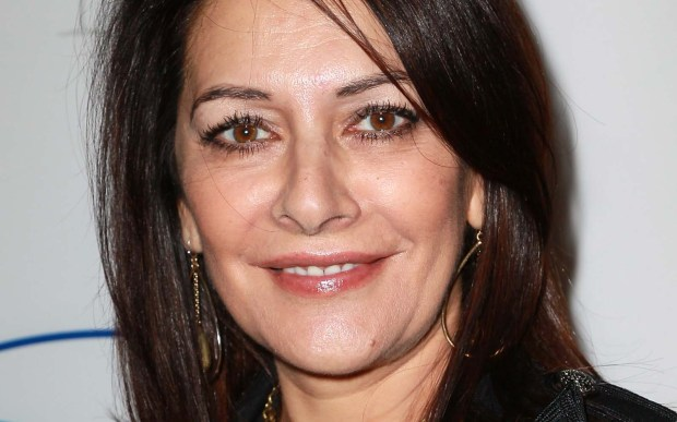 "Actress Marina Sirtis — best known as Counselor Cleavage on ""Star Trek: The Next Generation"" — is 61. (Getty Images: David Livingston)"