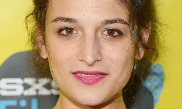 "Actress and ""Saturday Night Live"" alum Jenny Slate is 34. She's seen in ""Parks and Recreation"" (Tom's on-again-off-again girlfriend) and ""House of Lies"" and heard in ""Bob's Burgers."" She's also known as the cast member who accidentally dropped the F-bomb on her ""SNL"" debut. (Getty Images: Michael Loccisano)"