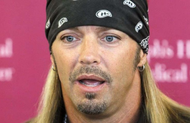 Singer and Poison frontman Bret Michaels is 53. (Associated Press: Ross D. Franklin)