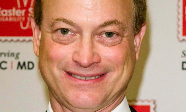 """Actor Gary Sinise of """"CSI: NY"""" and the movies """"Forrest Gump"""" and """"Apollo 13"""" is 61. (Getty Images: Kris Connor)"""