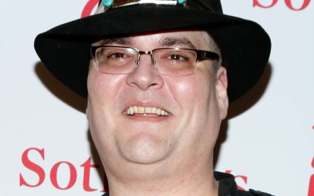 Singer-harmonica player John Popper of Blues Traveler is 49. (Getty Images: Cindy Ord)