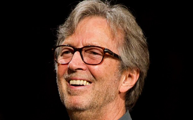 Guitar legend Eric Clapton is 71. He's a Rock and Roll Hall of Famer (three times around). (Associated Press: Charles Sykes)
