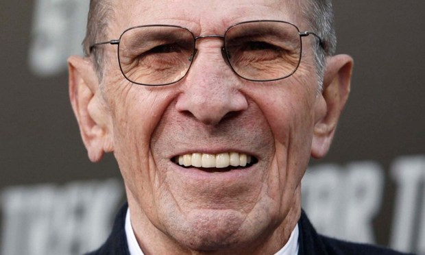 "The late Leonard Nimoy -- beloved and revered as ""Star Trek's"" Spock -- was born on this day in 1931. He's shown at the premiere of ""Star Trek"" in Los Angeles in 2011, just after announcing that the Chicago-area ""Star Trek"" convention marking the 45th anniversary of the TV series would be his last. He died in February 2015. (Associated Press: Matt Sayles)"