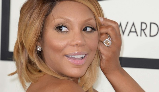 Singer Tamar Braxton is 39. She, her sister Toni and their other sisters performed in the R&B group the Braxtons. (Getty Images: Robyn Beck)