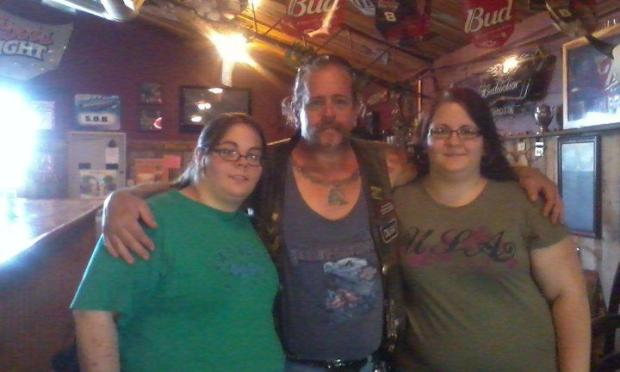 Shelby Kokesch, right, is pictured with her father, Rick Kokesch, and sister Quinn Kokesch in 2012, the last time the three were together. Shelby Kokesch, 24, died after a vehicle struck her as she crossed Kellogg Boulevard in St. Paul on March 15, 2016. Quinn Kokesch died in October 2012, when she was 23, in a South Dakota traffic accident. (Courtesy photo)