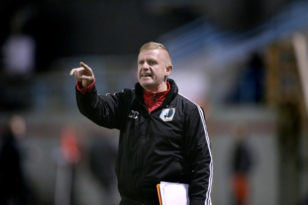 United FC coach Carl Craig (Courtesy of Minnesota United FC)