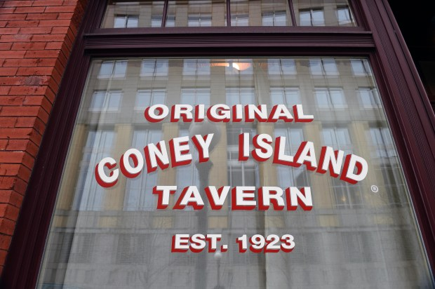 Built in 1858, the Original Coney Island Tavern is the oldest building in downtown St. Paul. It is also the oldest restaurant/bar. (Pioneer Press: Scott Takushi)