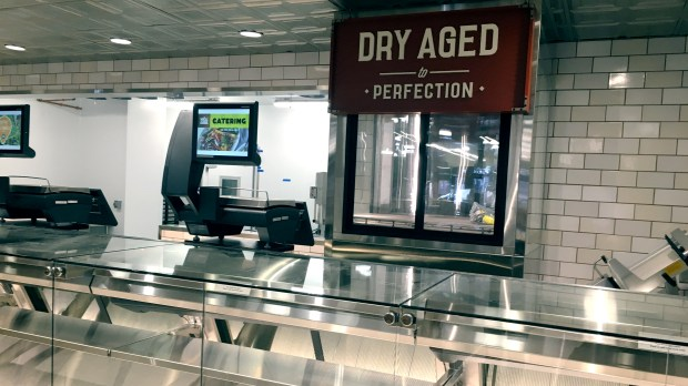 Meat will be dry-aged on display at the Whole Foods in St. Paul. (Pioneer Press: Jess Fleming)