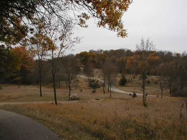 Sibley State Park is seen in the autumn of 2009. (Courtesy of the Minnesota Department of Natural Resources)