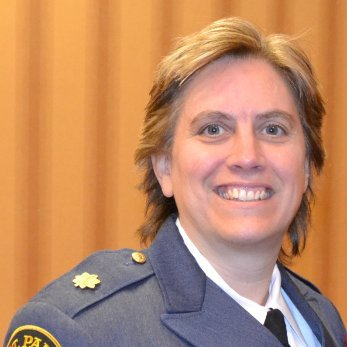 St. Paul Police Cmdr. Mary Nash said she would consider applying for St. Paul police chief if the City Council changes the minimum qualifications. (Courtesy photo)