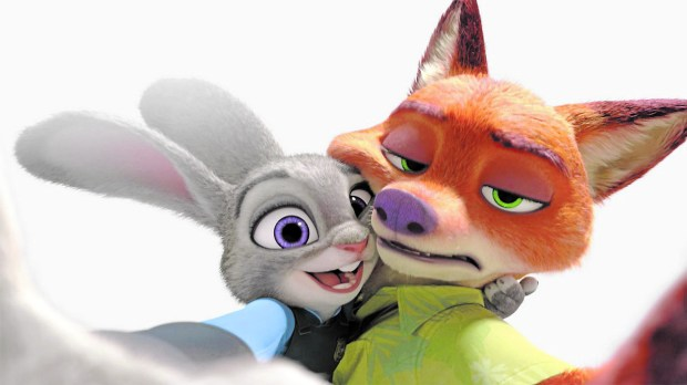 """Ginnifer Goodwin voices Judy Hopps and Jason Bateman speaks for the fox in """"Zootopia."""""""