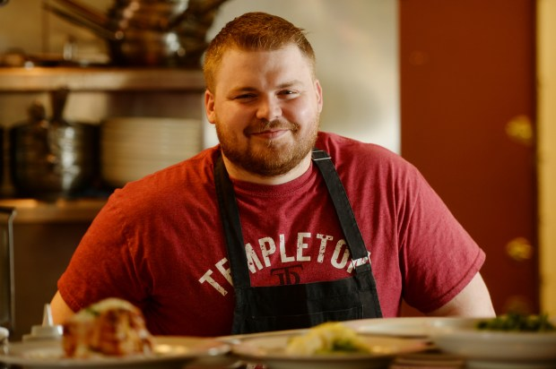 Mucci's chef and partner Chris Urich, formerly the sous chef at the Strip Club, is churning out hand-made pastas, crazy-crisp-crusted pizza (the crust is deepfried then baked) and a few simple small plates and entrees. (Pioneer Press: John Autey)