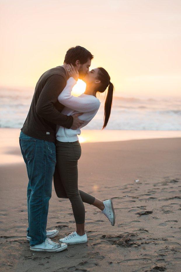 Rhett Ellison and Rain Hein in March in Santa Cruz, Calif. (Nicole Nelson)