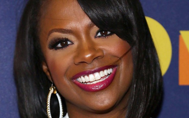 Singer Kandi Burruss of Xscape and an Unreal Housewife of Atlanta is 40. (Getty Images: Astrid Stawiarz)