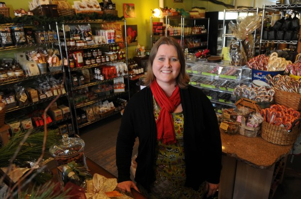 Laurie McCann Crowell, owner of Golden Fig in St. Paul.