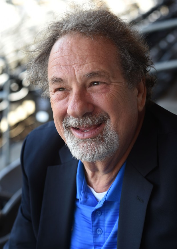 Mike Veeck, owner of the Saint Paul Saints, at CHS Field in St. Paul, Monday, May 16, 2016. (Pioneer Press: Scott Takushi)