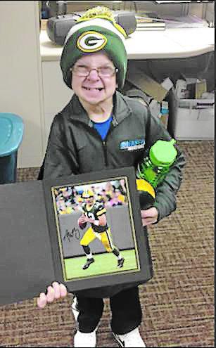 Michael Sheridan is a loyal Green Bay Packers fan. (Photo courtesy of Matt Percival)