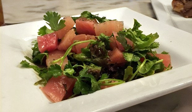 Pickled beet salad at Ngon Bistro on University Avenue in St. Paul. (Pioneer Press: Jess Fleming)