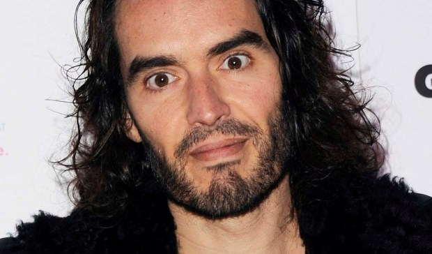 Comedian Russell Brand -- looking a little like Charles Manson -- is 41. (Getty Images: Stuart C. Wilson)