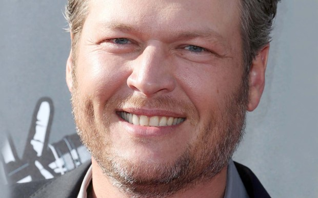 """Country singer Blake Shelton is gonna be """"Startin' Fires"""" with his 40 candles. (Getty Images: Frederick M. Brown)"""