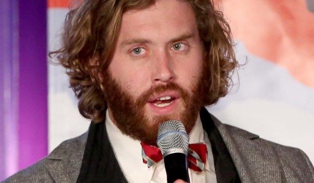 "Comedian and actor T.J. Miller of HBO's sitcom ""Silicon Valley"" is 35. He also voiced Tuffnut in the animated ""How to Train your Dragon"" movies. (Getty Images: Jonathan Leibson)"