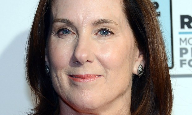 "Movie producer Kathleen Kennedy -- ""Lincoln,"" ""Star Wars,"" ""Schindler's List"" and so on -- is 63. (Getty Images: Ethan Miller)"