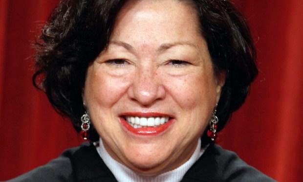 Supreme Court Justice Sonia Sotomayor (Getty Images: Chip Somodevilla)