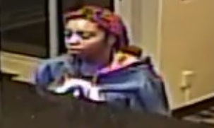 Roseville police are asking for the public's help identifying a woman associated with an armed robbery attempt Thursday, June 16, 2016, at the Fairfield Inn. (Photo courtesy Roseville Police Department)